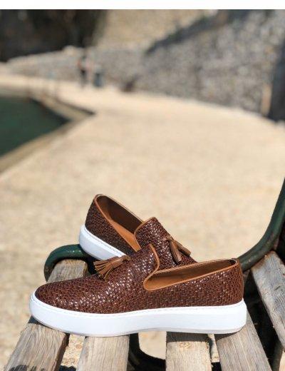 Ben Tailor Collin's ανδρικά ταμπά παπούτσια 2091T