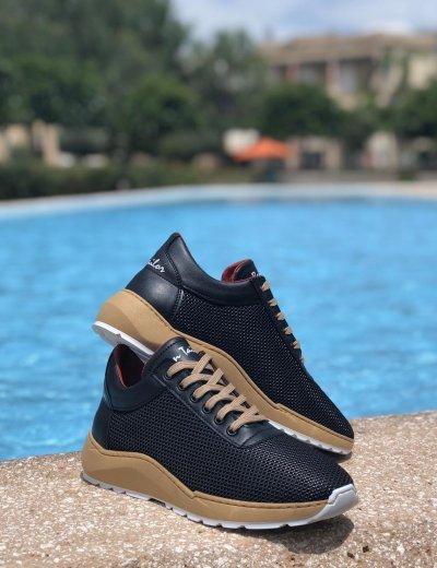 Ben Tailor The King's ανδρικά μαύρα παπούτσια 209620B