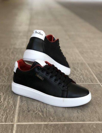 Ανδρικά μαύρα Ben Tailor Sneakers Frankie 2084