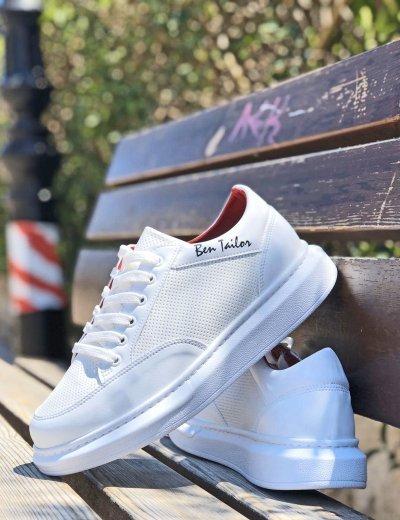 Ben tailor Ανδρικά  Retro Sneakers λευκό 211010
