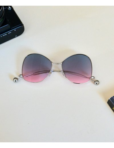 Γυναικεία γυαλιά ηλίου στρογγυλά πράσινο Premium S7235D