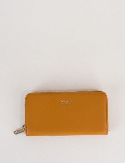 Γυναικείο ταμπά πορτοφόλι δερματίνη με φερμουάρ DFX18902E
