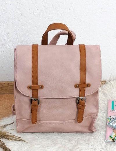 Γυναικείο ροζ Backpack με λουράκια 20061R