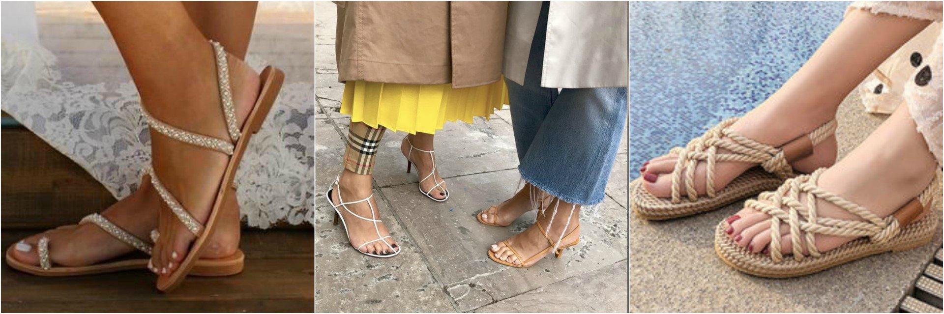 Η πιο safe επιλογή της παπουτσοθήκης σου είναι τα χαμηλά σανδάλια